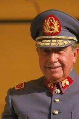 Former Chilean president Augusto Pinochet.