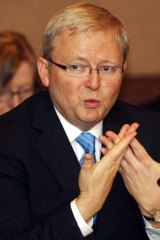 """""""A huge proportion of world trade flows through [these] waters"""" ... Kevin Rudd."""
