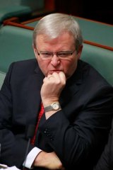 An early election could be a defensive measure against a Rudd challenge.