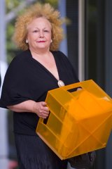 Sue Owens leaves VCAT.