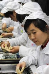Novel solution ... Foxconn will increase its use of robots as a way of reducing labour costs and stemming criticism over its work practices that have led to some suicides.