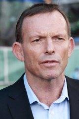 Unscathed: Tony Abbott.