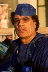 Muammar Gaddafi ... should face a fair trial in The Hague.