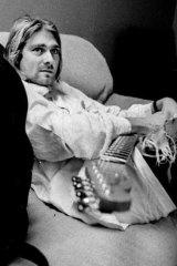 Legacy: Nirvana frontman Kurt Cobain.