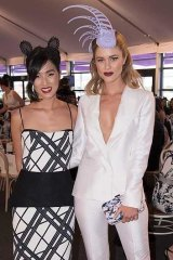Caulfield Style ambassadors Nicole Warne and Scherri-Lee Biggs.