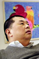 Jimmy Lai, whose Next Media Group has suffered numerous Triad-style attacks.