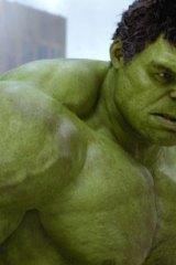 Mark Ruffalo as the Hulk.
