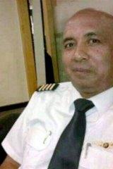 Malaysia Airlines pilot Zaharie Ahmad Shah.