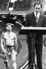 Paul Keating delivers an emotional speech in Redfern, 1992.
