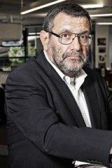 Israeli journalist and newspaper editor David Landau.