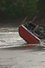 The vessel washed up on the southern coast of Java.
