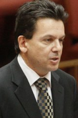 Nick Xenophon . . . tales of abuse.