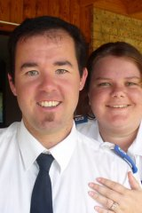 Jonathan Dent and wife Katherine