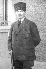 Turkish leader Mustafa Kemal Ataturk, circa 1922.