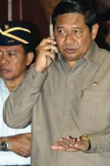 """Idle: Outgoing Indonesian President Susilo Bambang Yudhoyono spent his final years in power urging """"stability""""."""