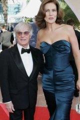 Slavica Eccelstone is a foot taller than her ex-husband.