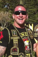 Comanchero national president Mark Buddle.
