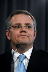 "Accused of ""dog whistling"" ... Scott Morrison."