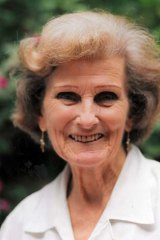 Devoted … Sara Williams worked tirelessly in the field of child psychiatry in Sydney until the age of 85.