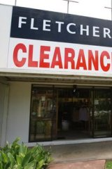 Victoria's economic slowdown hit Fletcher jones.
