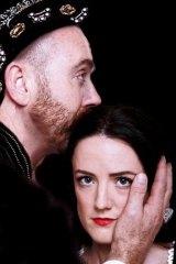 Michael Heap as Henry VIII and Jenna Robertson as Anne Boleyn.