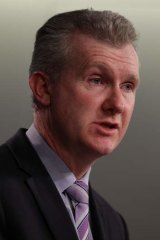 Safety first: Minister Tony Burke.