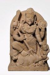 The divine couple Lakshmi and Vishnu, at the National Gallery of Australia.