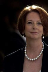 'A good woman' ... Prime Minister Julia Gillard.