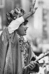 Paul McNamee as King of Moomba in 1987.