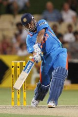 MS Dhoni of India.