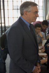 Robert De Niro and Anne Hathaway in the film <i>The Intern</i>.