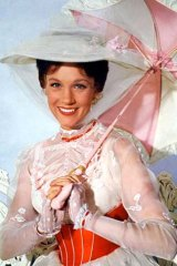Julie Andrews in <em>Mary Poppins</em>.