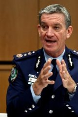 """""""Communities need to be reassured"""": NSW Police Commissioner Andrew Scipione."""