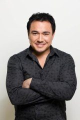 Sam Pang, co-host of <i>Santo, Sam and Ed's Sports Fever!</i>