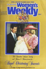 A  souvenir cover of <i>The Australian Women's Weekly</i> from 1982.