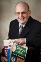 Melway founder Merv Godfrey.