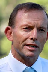 Could make good on promise: Tony Abbott.