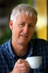Meditative: Liam Davison in 1999.