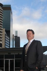 CEO of Lend Lease Steve McCan.