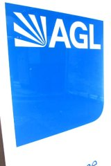 Using their market clout ... AGL, one of three companies accused by the Greens of hindering renewable energy projects.