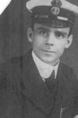 James Fettes, of Sydney, one of the men lost on board the AE1 a century ago.