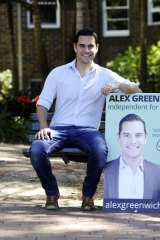 Equal favourite ... Alex Greenwich.
