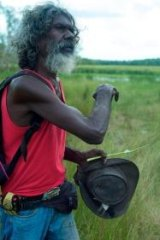 David Gulpilil in <i>Another Country</i>.