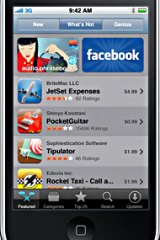 Apple iPhone App Store.