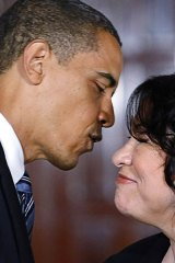 US President Barack Obama and his pick for the Supreme Court, Sonia Sotomayor.