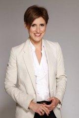Lateline host Emma Alberici.