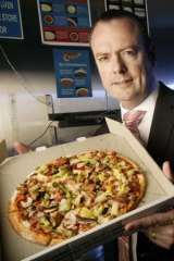 Don Meij ... technology is making it easier for people to order more pizzas than ever before.
