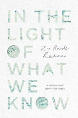 <i>In the Light of What We Know</i>, by Zia Haider Rahman.