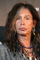 Cashing in on the touring circuit: Steven Tyler.