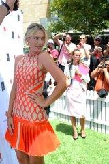 Glamour pays ... Maria Sharapova strikes a pose.
